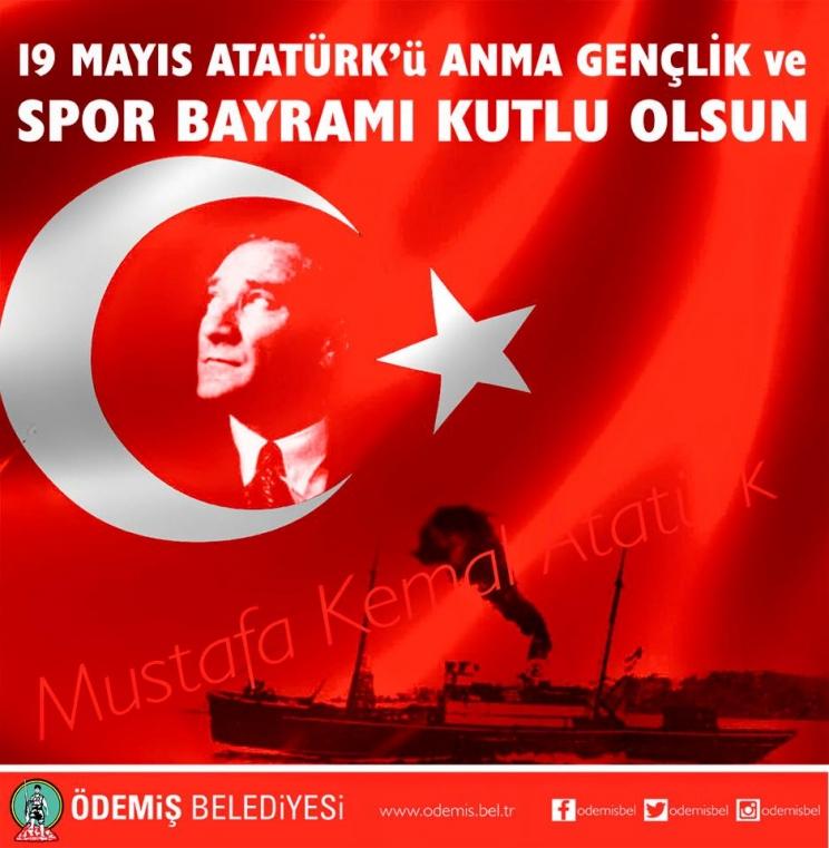 Belediye Başkanı A.Mahmut BADEM'in 19 Mayıs Atatürk'ü Anma